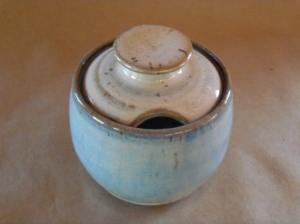 Calico&Blue Sugar Bowl